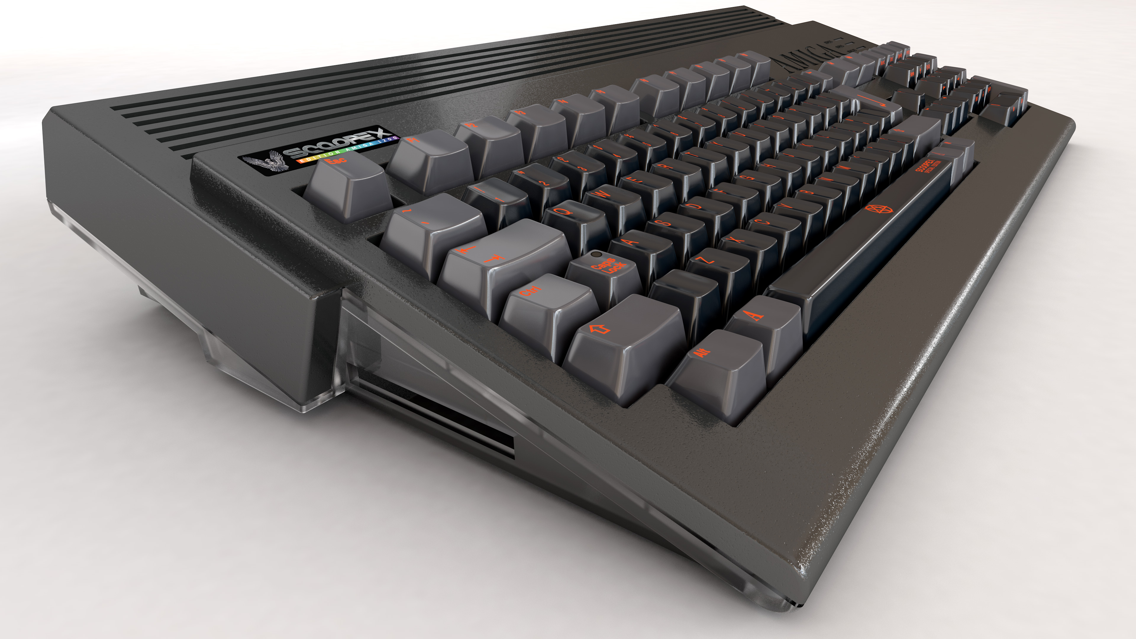 Scoopex Special Edition Case & Keycaps – A1200 NET